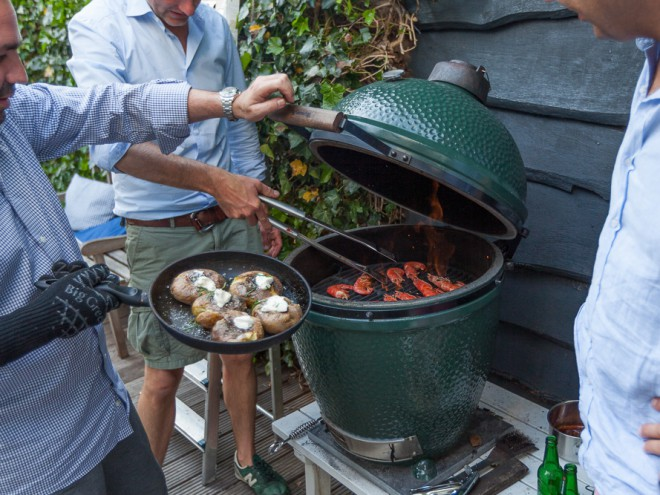 houtskool voor Big Green Egg