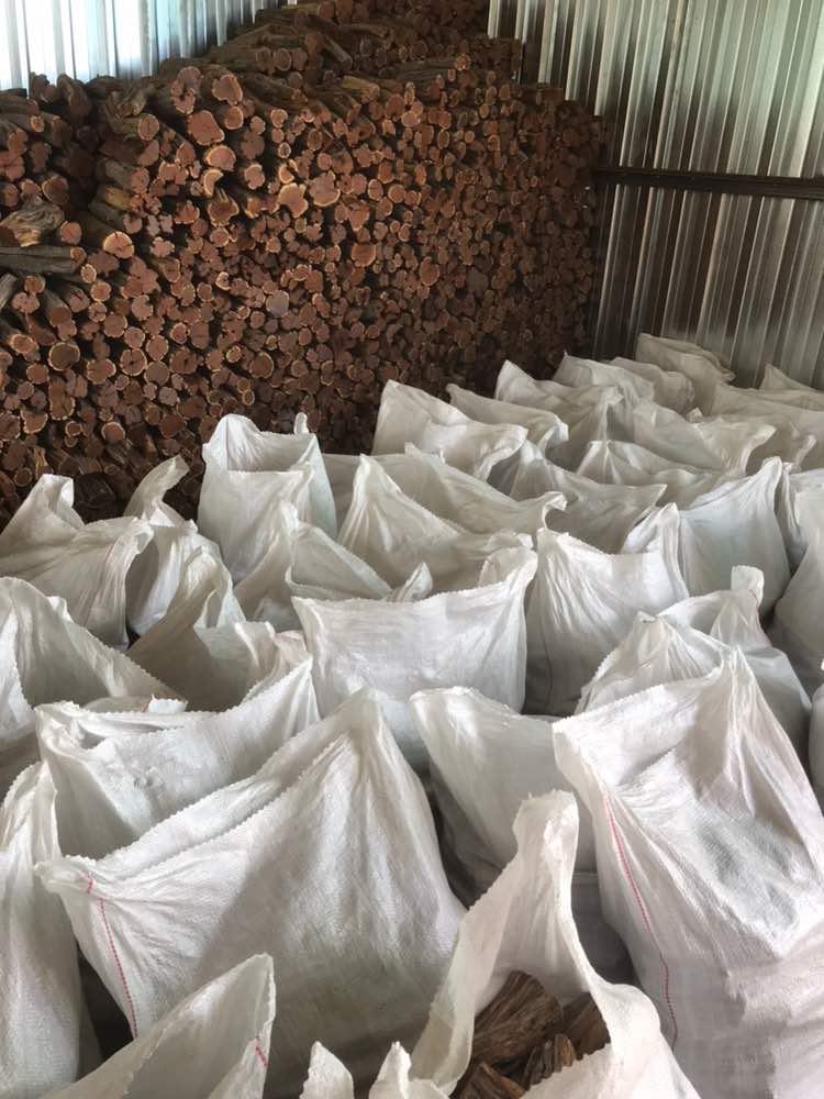 Sekelboshout klaar voor verzending naar Nederland