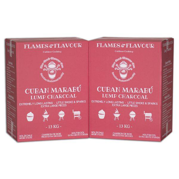 Marabu Houtskool voordeel 26KG van Flames & Flavour