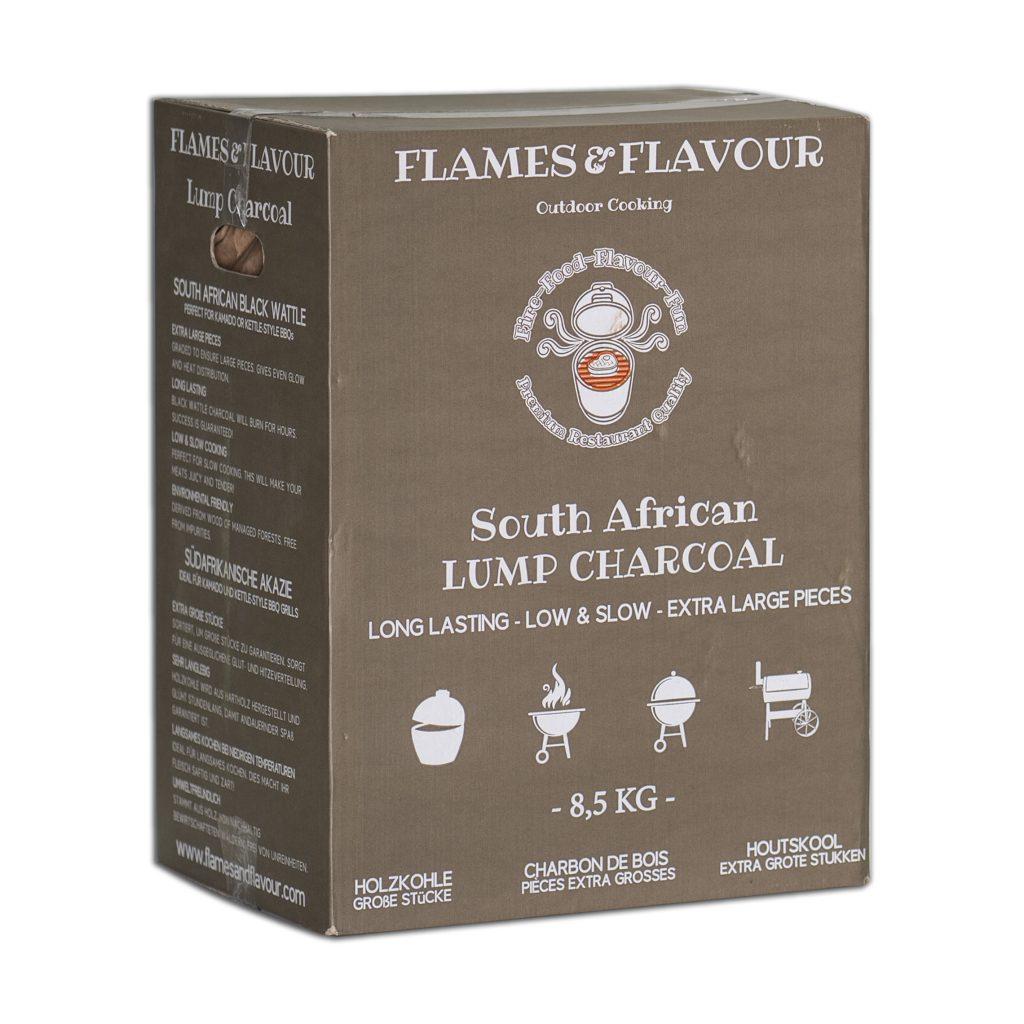Flames & Flavour Zuid-Afrikaanse Black Wattle Houtskool