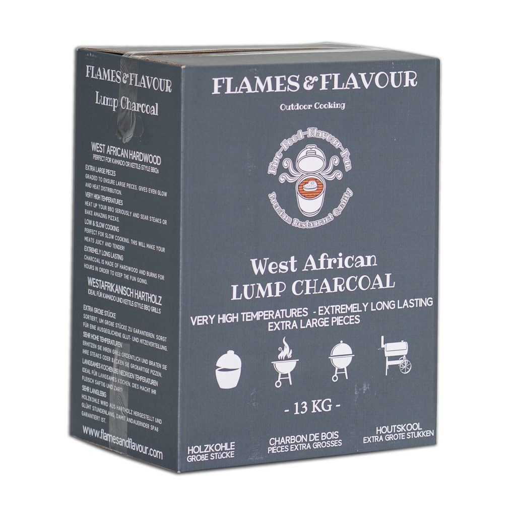 Flames & Flavour West-Afrikaans Hardhout Restaurant Houtskool