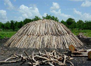 Opbouwer van Marabu Houtskool ambachtelijk gemaakt
