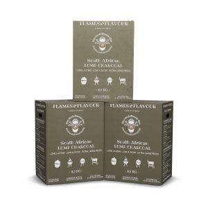 volume aanbieding Black Wattle houtskool van Flames & Flavour uit Zuid Afrika