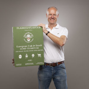 mooie Europees Eiken & Beuken Restaurant Houtskool van Fllames & Flavour
