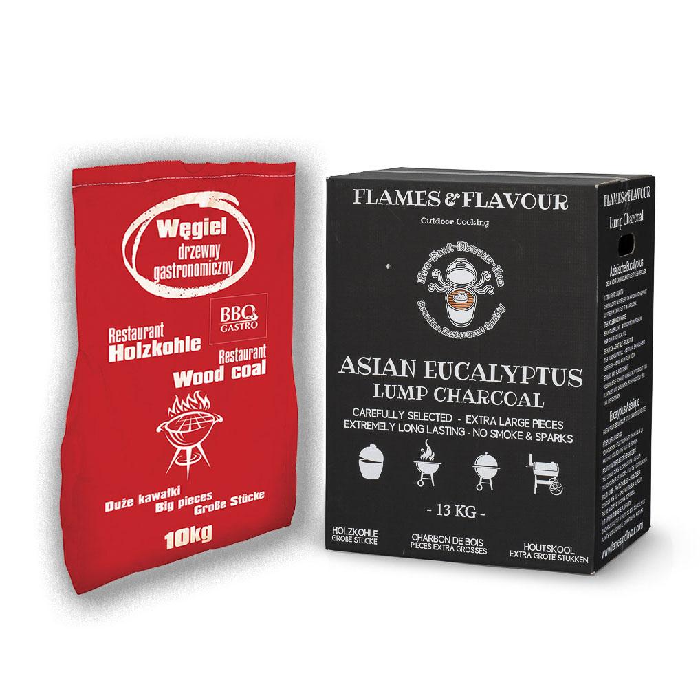 Combi Europees Eiken & Beuken met Aziatische Eucalyptus Restaurant Houtskool