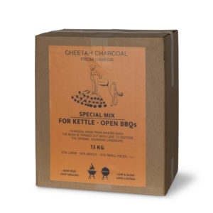 Cheetah Charcoal 13 KG perfect Kettle - Open BBQmix
