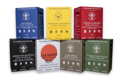 Flames & Flavour Houtskool kenmerken